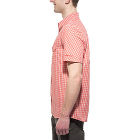 axant Alps Travel Shirt Agion Active Herren red check